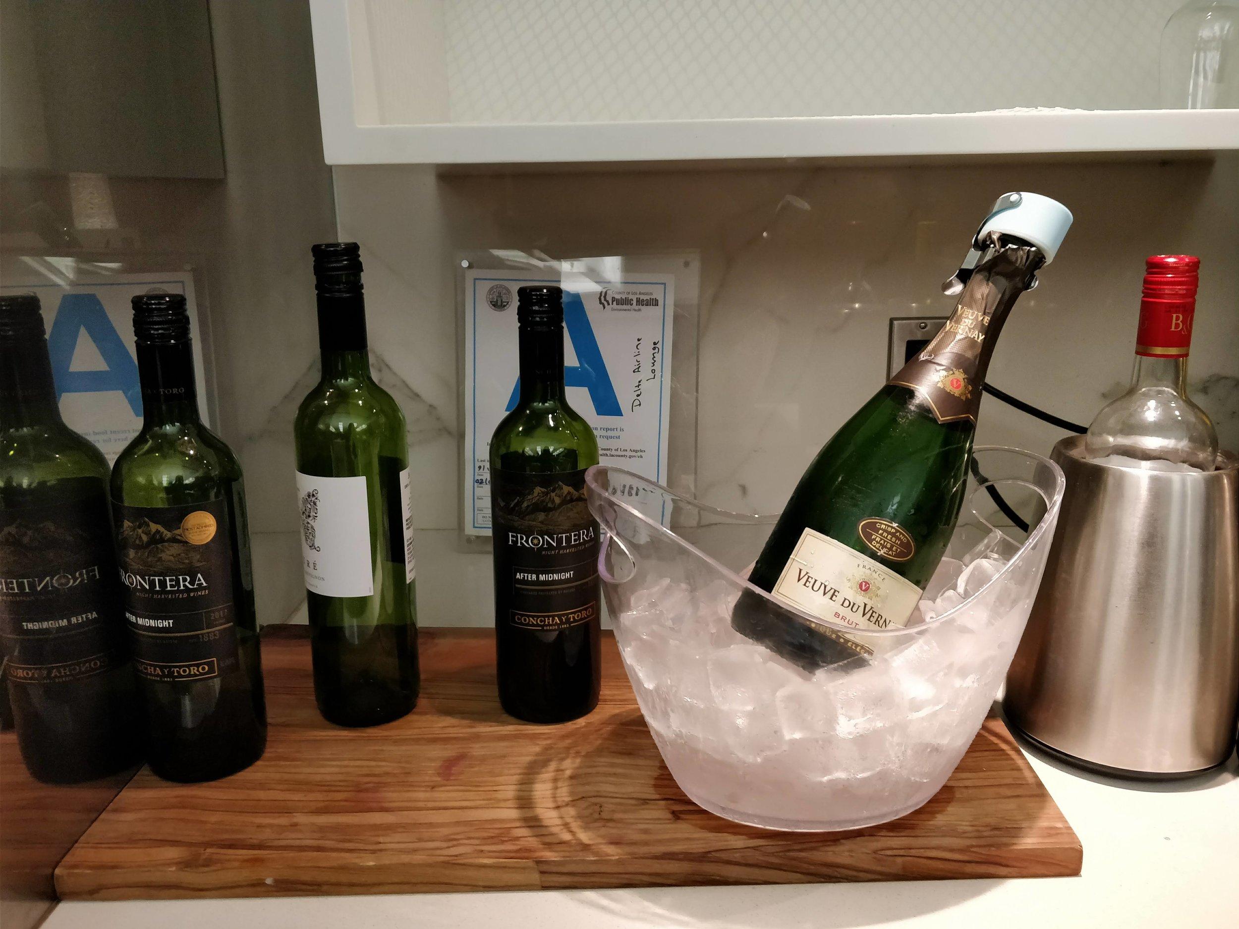 wine and brut