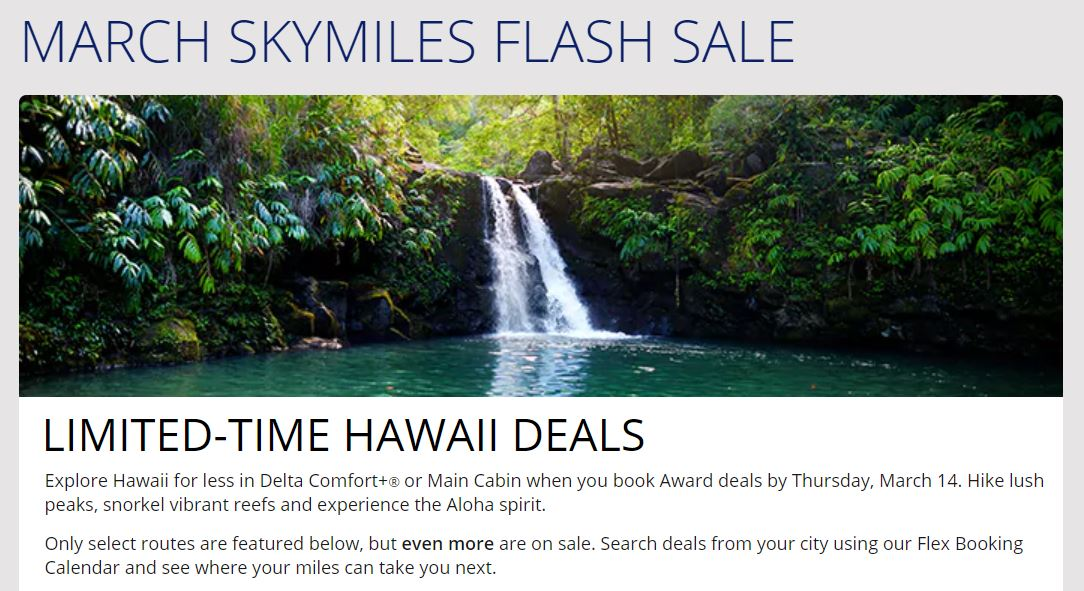 image via https://www.delta.com/en_US/shop/deals-and-offers/north-america/skymiles-flash-sale