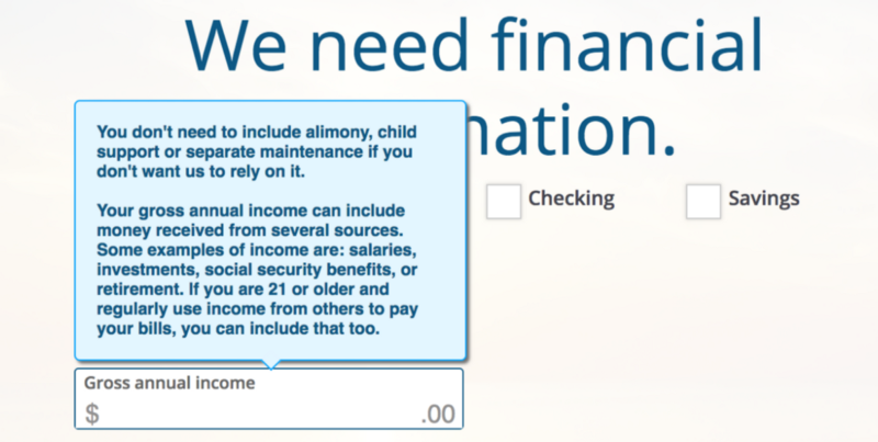 Source: Screenshot from Chase credit card application.