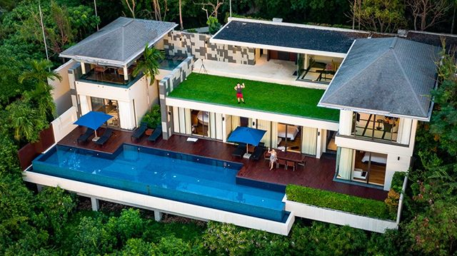 One of the craziest upgrades we've ever received was at the Conrad Koh Samui. We stayed in the 3 bedroom villa with a private pool and ocean view. 🌊⠀⠀⠀⠀⠀⠀⠀⠀⠀ ⠀⠀⠀⠀⠀⠀⠀⠀⠀ What's the best hotel you've ever stayed in? Leave a comment below!⬇️⠀⠀⠀⠀⠀⠀⠀⠀⠀ ⠀⠀⠀⠀⠀⠀⠀⠀⠀ Booked using free night certificates from the Amex Hilton Aspire and Surpass cards. Upgrade via Hilton Diamond status from the Aspire card. Check out the latest video on YouTube for a tour and booking tips!⠀⠀⠀⠀⠀⠀⠀⠀⠀ ⠀⠀⠀⠀⠀⠀⠀⠀⠀ 📷 @mandyroams #kohsamui #thailand