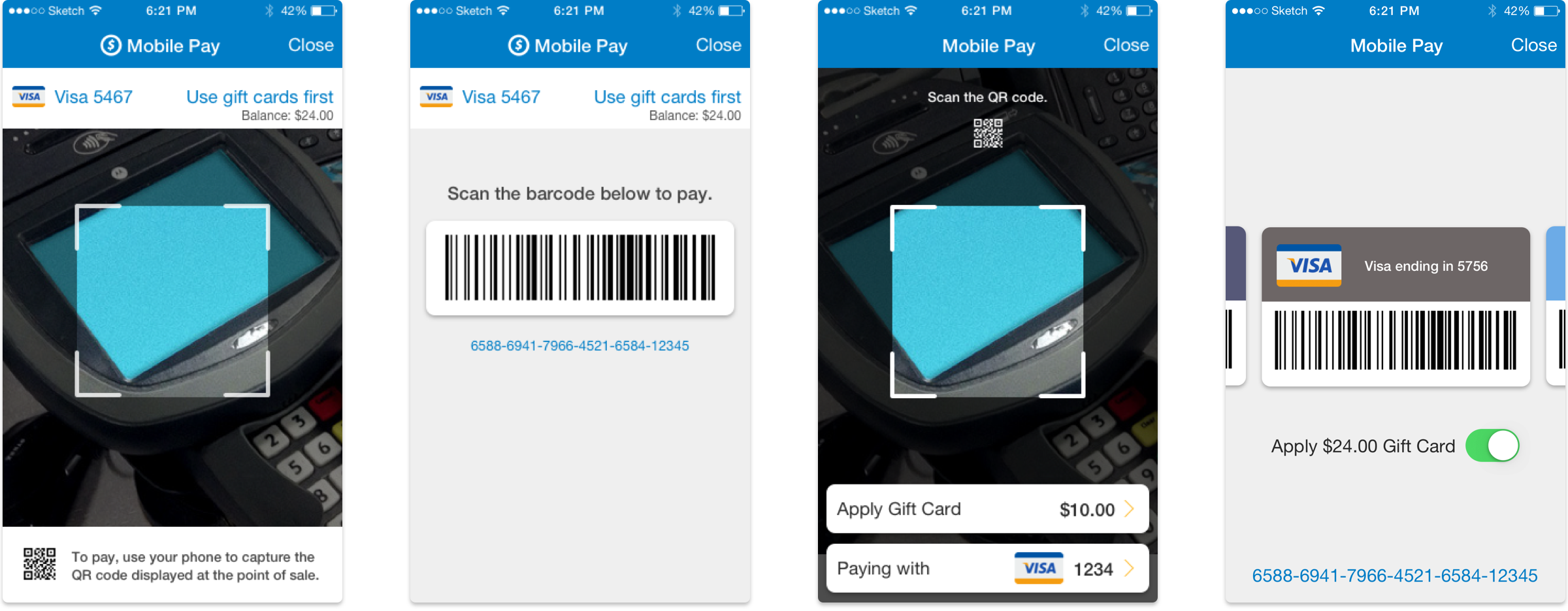 Initial exploration of payment interfaces