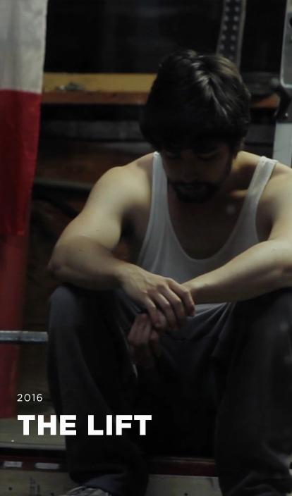 THE LIFT - Starring Yoris BosmanCinematographyGary ChutaiWriter,Director & EditorManny MahalSound Design & Original Score Manvinder Dhak