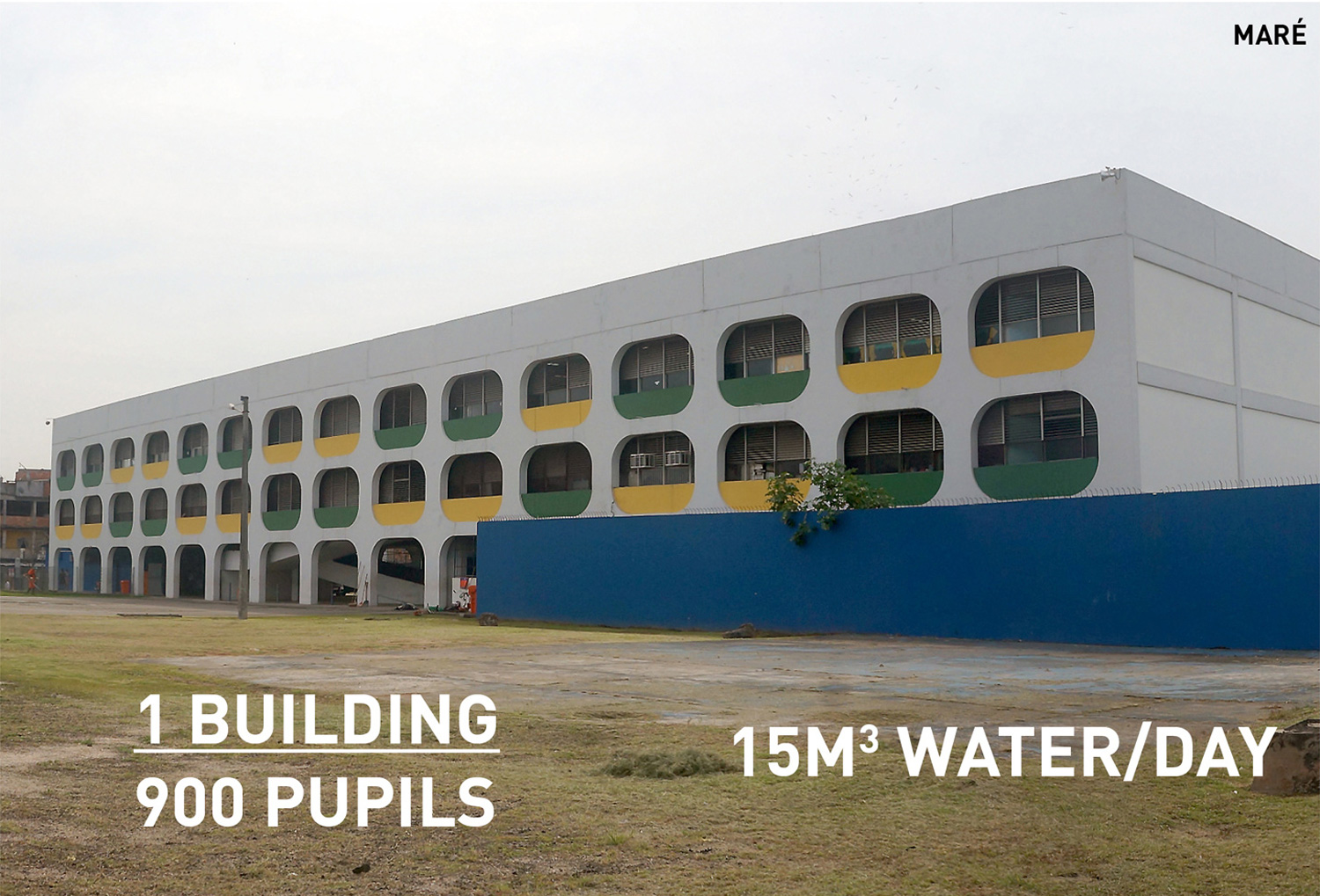 Public buildings such as schools offer a unique opportunity to explore the potential of the system in an institutional and educational setting.