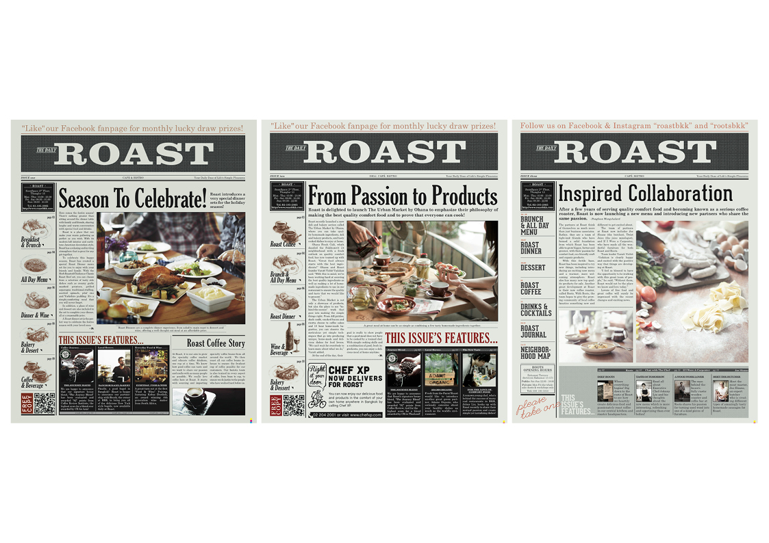 Roast issue 1-3