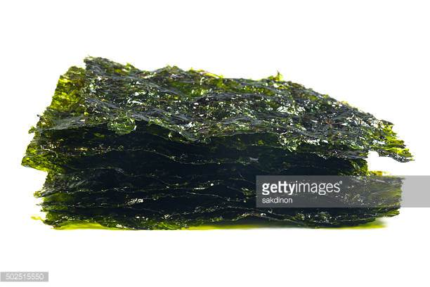 Dried Seaweed ! - A fantastic, crunchy, messy and tasty treat