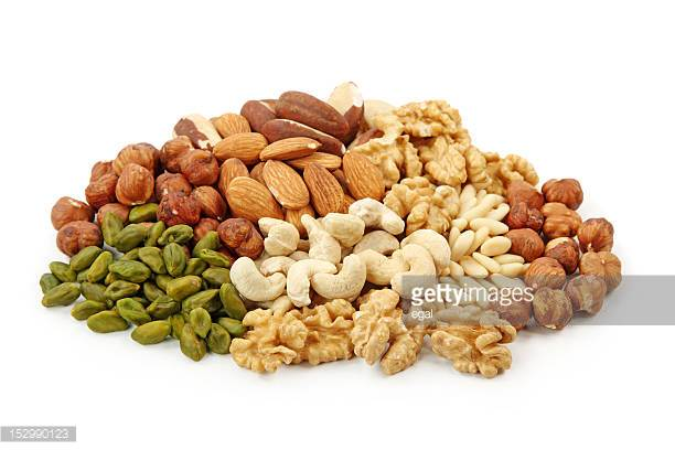 Mixed nuts.  - Fantastic healthy and filling snack for everyone