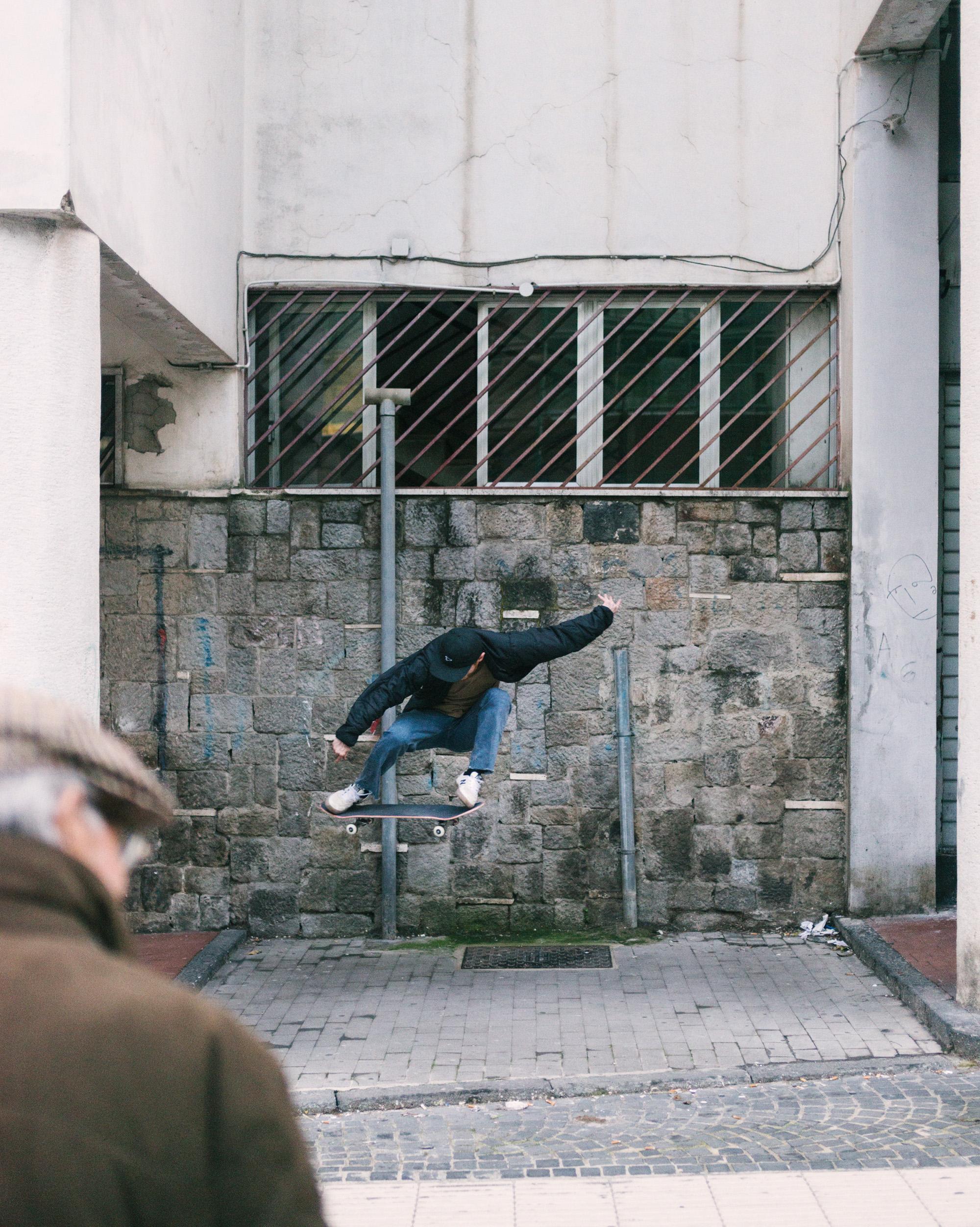 Charlie Munro – switch ollie. Photo: Maxime Verret