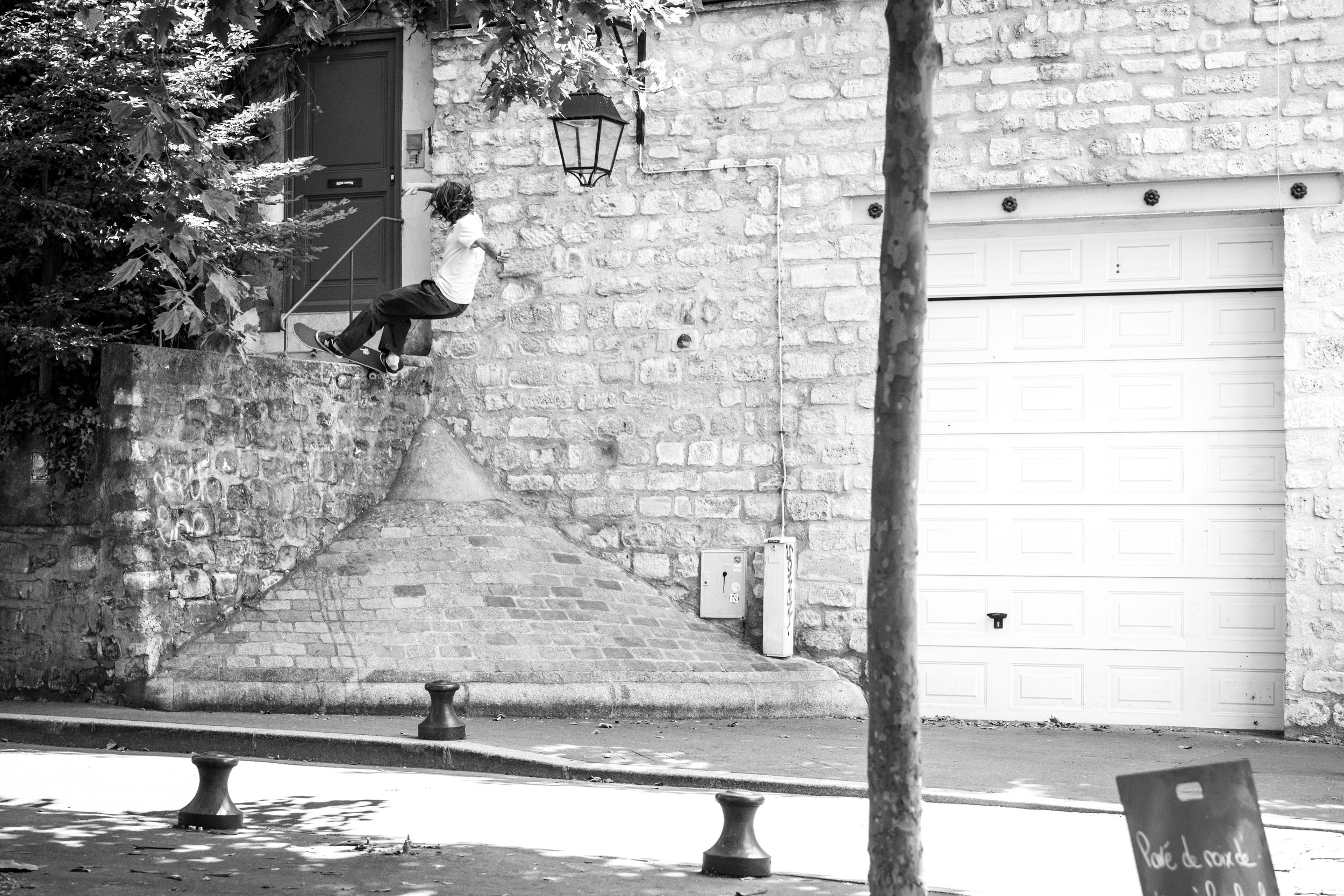 Fs Feeble in Paris. Photography by  Jelle Keppens .