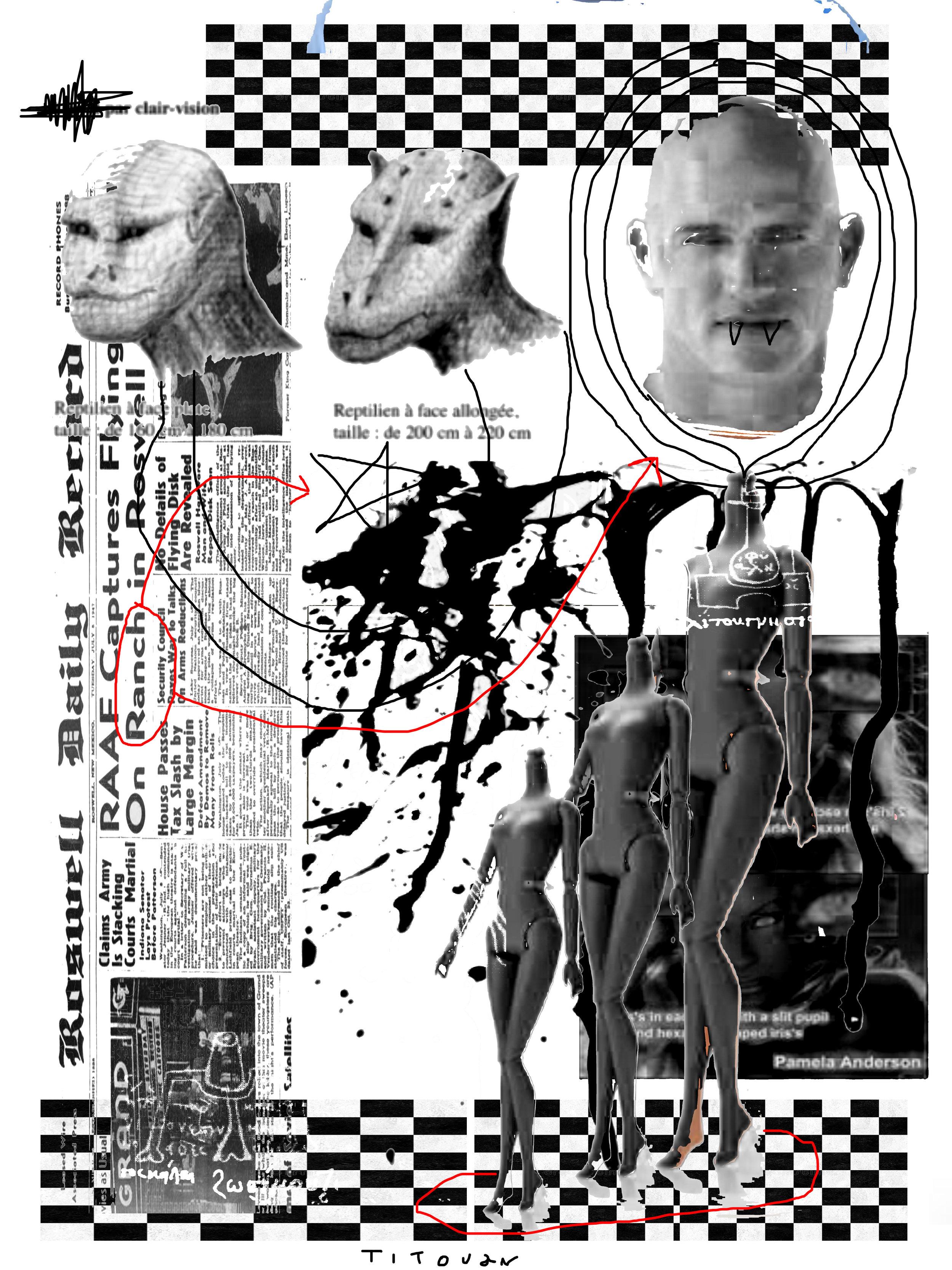 """The final exposé"" by our reptilian specialist Tito Lavole."