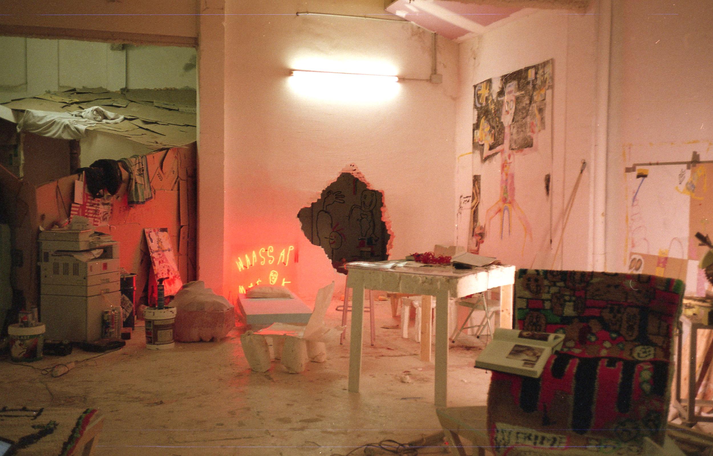 Maria's studio/appartement.