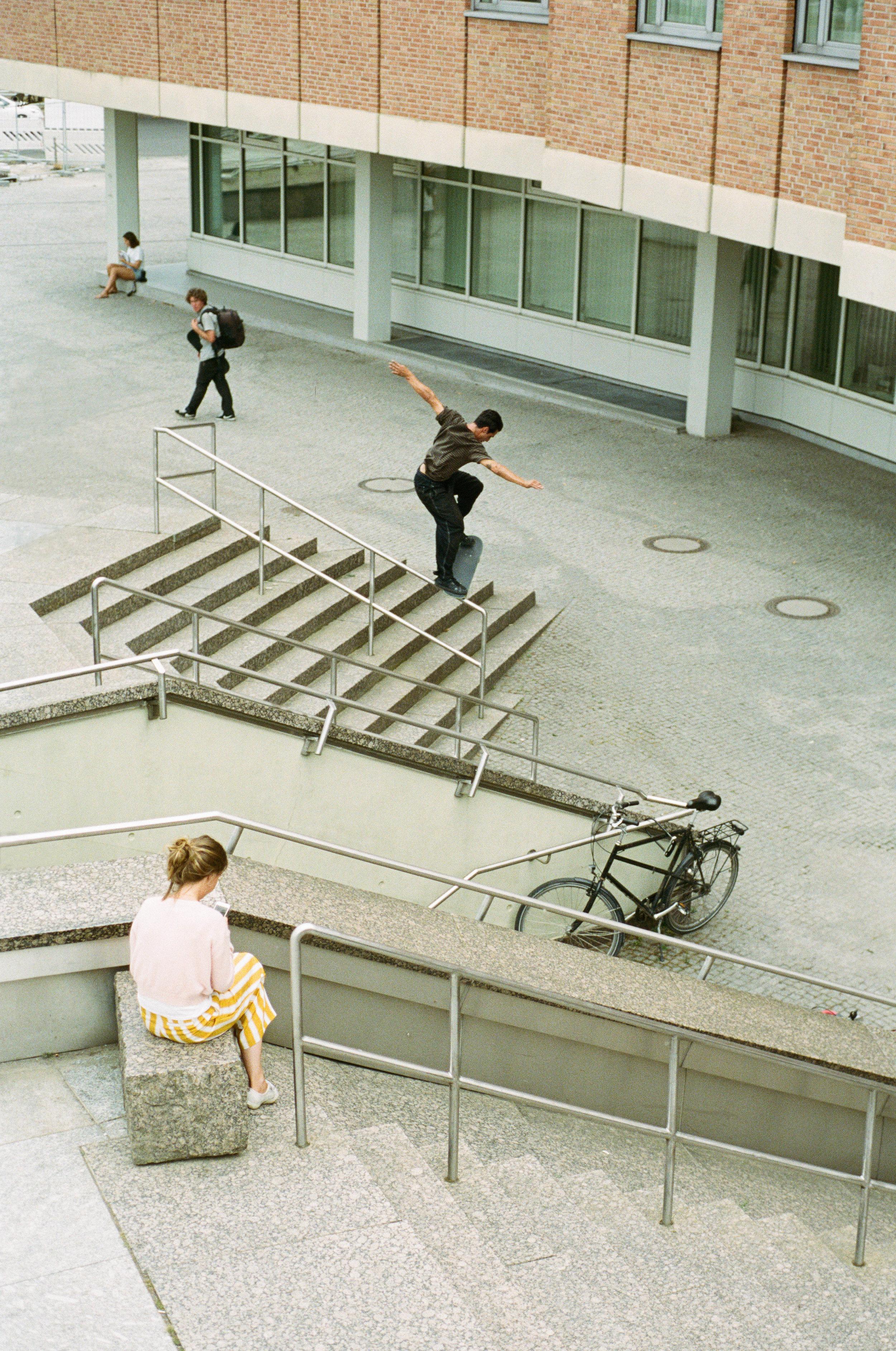 Noseblunt at Kulturforum, Berlin. Photo: Yentl Touboul.