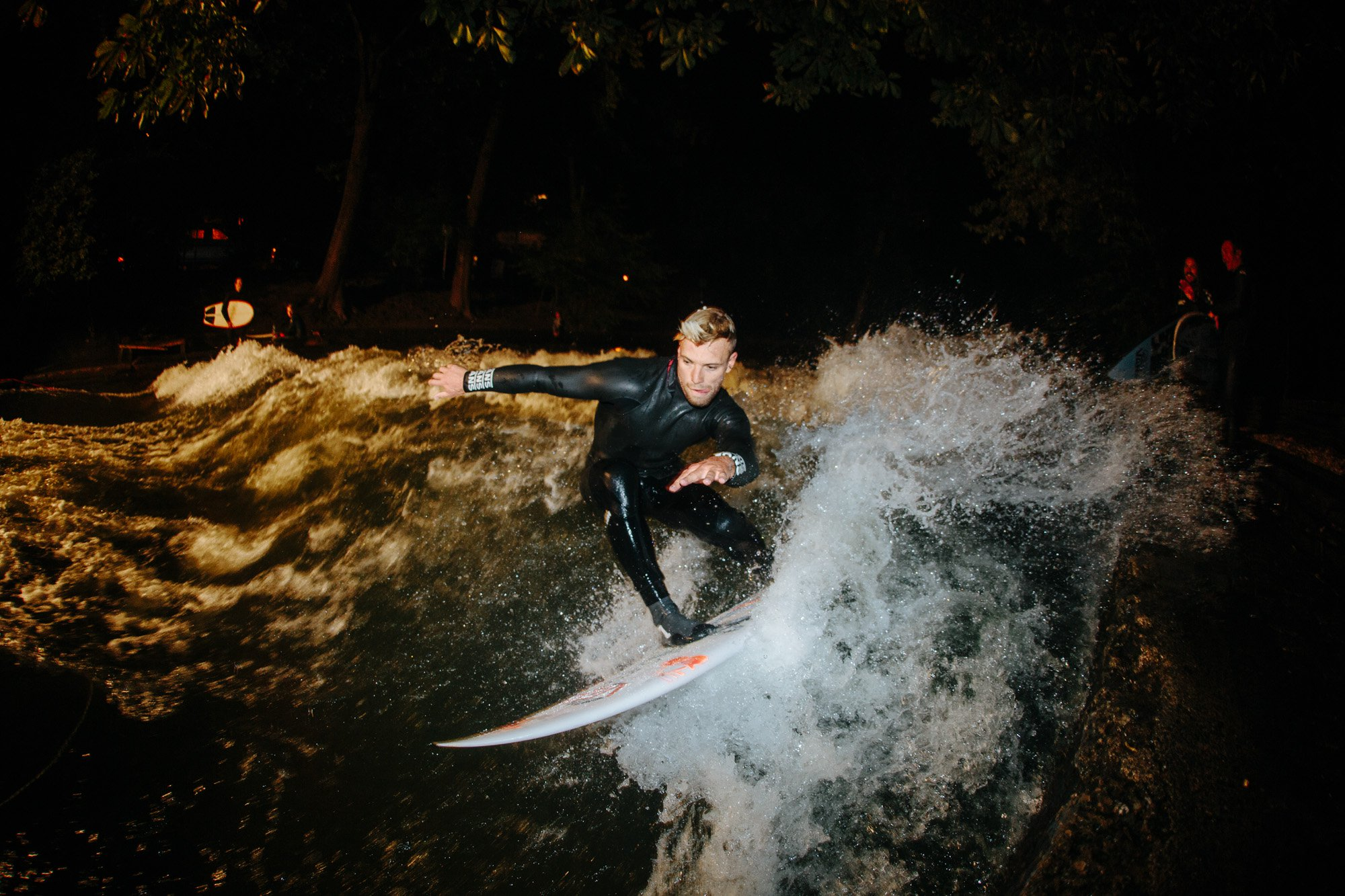 Tanner Gudauskas , and a not so classic German night-out.