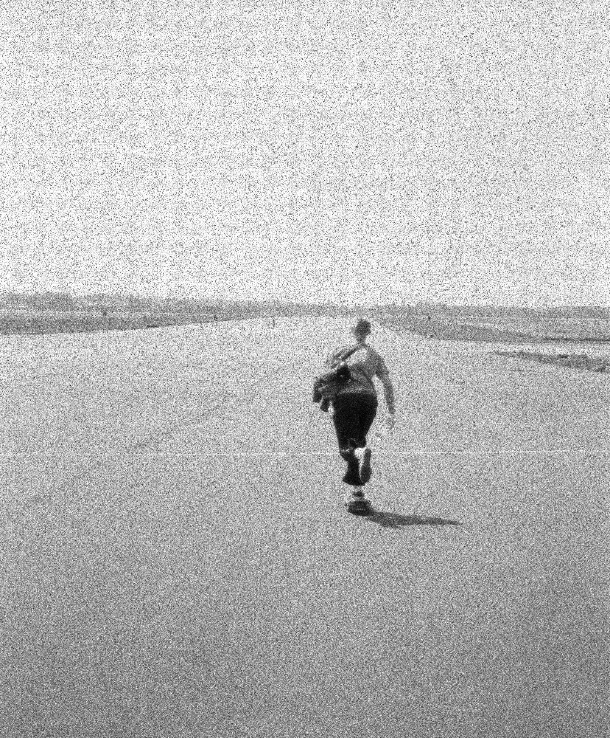 Tempelhof Feld, Berlin. One of the finest places to sweat your Augustiner-induced hangover.