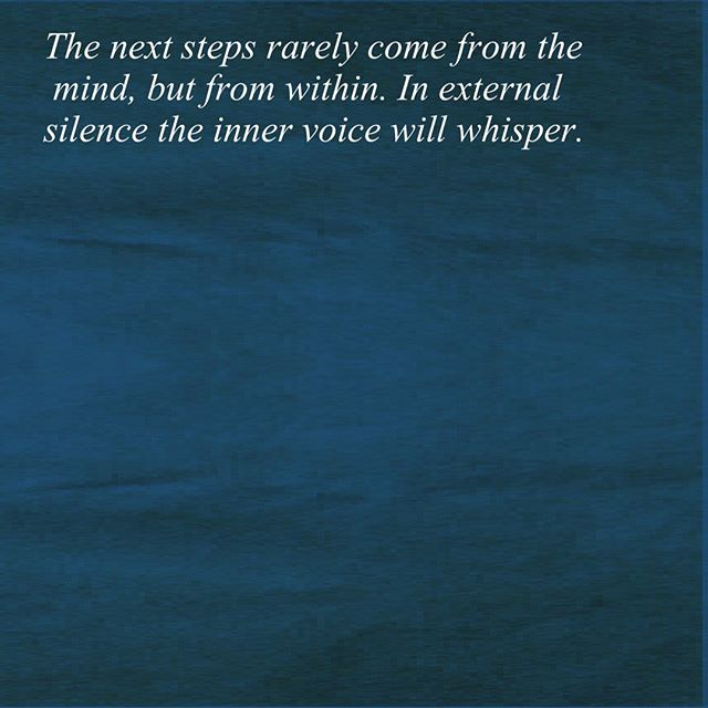 After the singing bowl experience I had in 2016, everything shifted. I had many patterns to unlearn so it is/was a process, but bit by bit I started to listen to and speak my own truth.  I sat quietly for many hours waiting to hear, see or feel what my own internal guidance wanted to express to me. What was my truth, what life could I live that I would love and would be fulfilling? What work was I here to do and how was it possible to make that happen considering the reality I had created for myself so far?  Before now I had asked these questions and tried to answer them with my mind. Now I was listening, deep within myself, to my inner being, the child within me, who had always been there and who for so long I had ignored. In meditation I connected with my internal wisdom. Bit by bit answers came to me in this space. But still now I can fall back into delusion not knowing what to do next. I have to catch myself and remember, the next steps rarely come from the mind but from within. In external silence the inner voice will whisper.  As I shifted out of old patterns the emotions and thoughts that I had previously held on to started to flow more easily, things I previously felt unable to say I found the voice to share. This wasn't always easy (or peacefully expressed!!) as there was a lot I had held in! On several occasions it was uncomfortable and painful but with time this was healed.  This verbal release helped let go of the blame I had for others and the feeling I had been controlled. Instead I saw my life and choices so far as the amazing lessons that they were; if I didn't direct my life and make my choices then others would do this for me!  As I moved into a life I was fulfilled by, I began to enjoy silence in the presence of others. My inner voice was already expressing itself to me and the silence was no longer an uncomfortable reminder of a lie. Instead it offered a moment to listen, breathe and be. For the first time in many years I was able to listen to ot