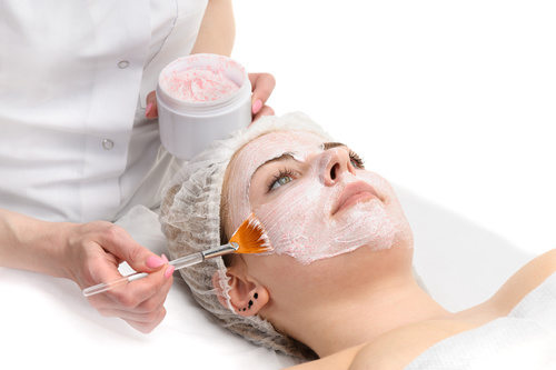 Dermaceutic's cosmeceutical and peel treatment being undertaken at Cotswold Face Aesthetics