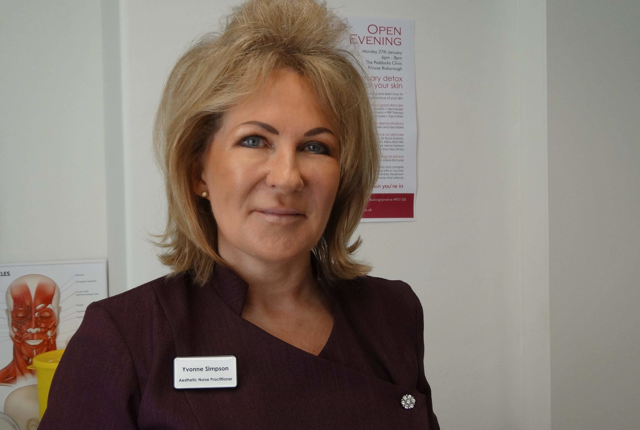 Yvonne Simpson at at Cotswold Face Aesthetics
