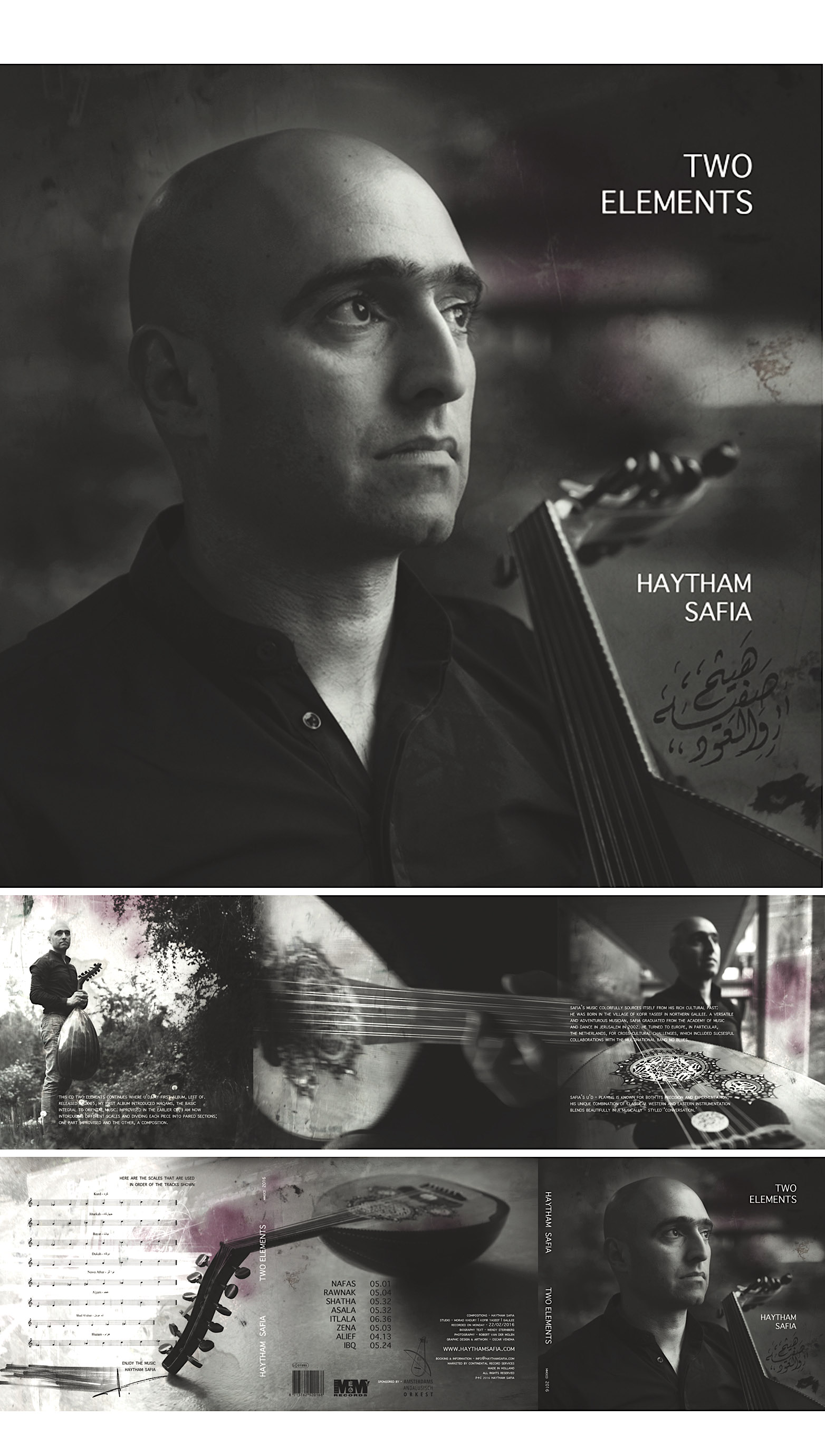 Haytham is an internationally renowned U'd player - long established himself as a talented composer with a well-full of innovative ideas, exemplifying his gift for composition  _