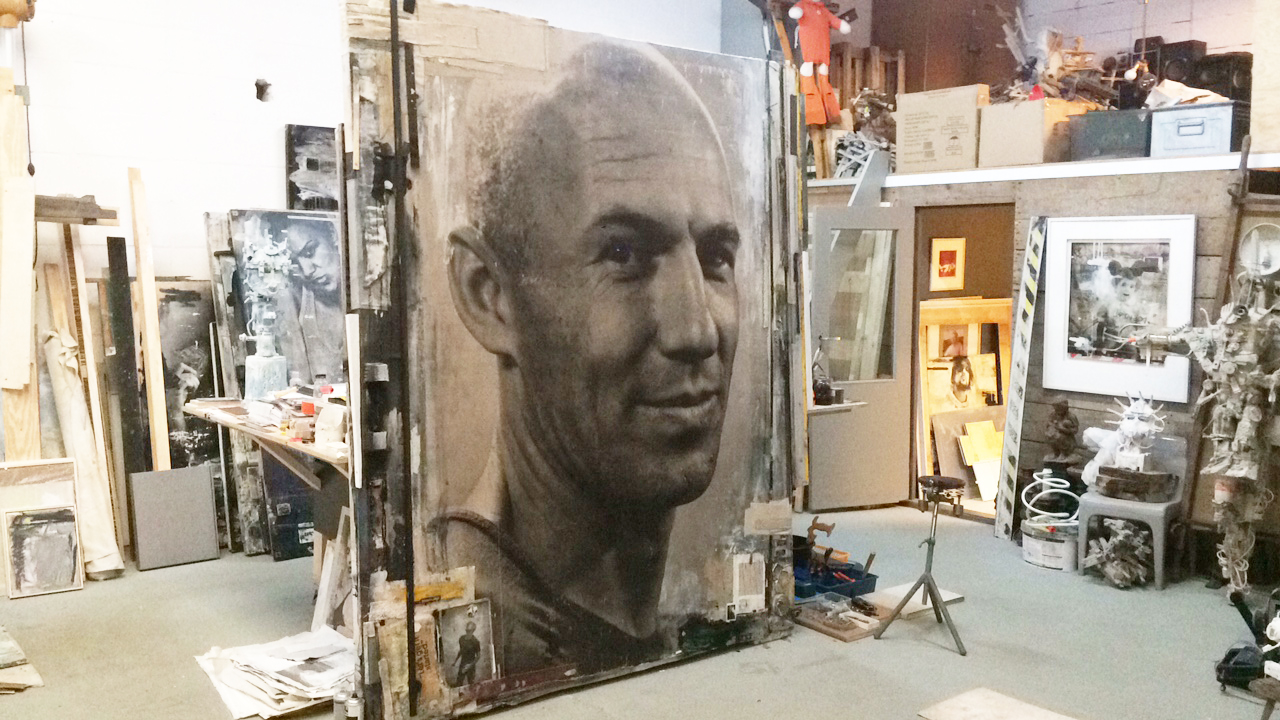 Artist collab ZKUMM is pleased to announce the making of… ARJEN ROBBEN - LET'S GET IT STARTED
