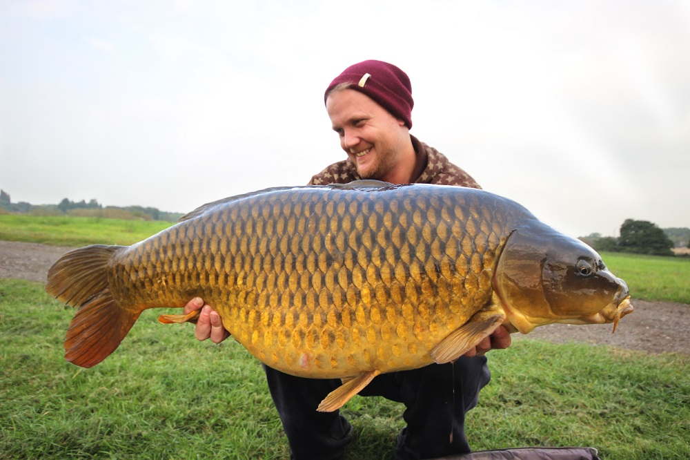Mat Woods with a Quarry 40