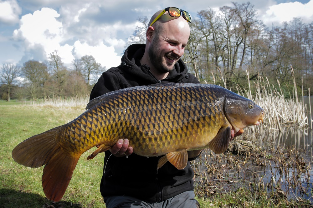 A 24lb common on the washing line