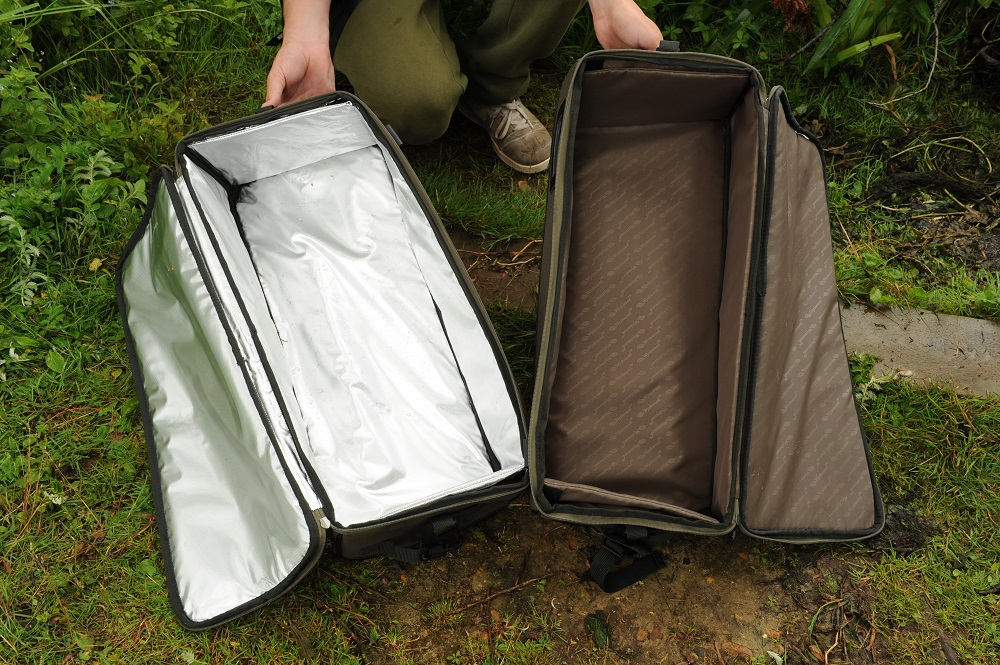 One coolbag, one bits bag