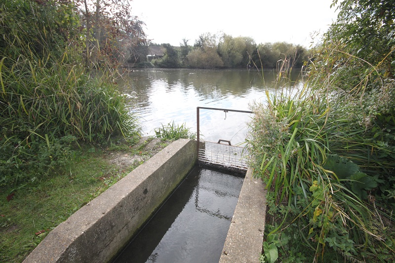 One of the inlets
