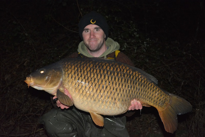 The 'baby' of the trio at 34lb 4oz