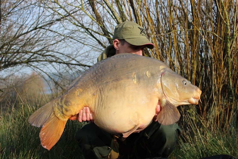 At 40lb 8oz, this is a new forty for Blackwater