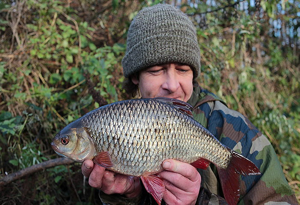 Terry's love of fishing extends well beyond carp