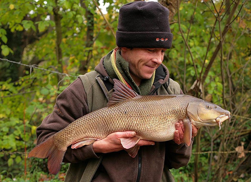 Barbel have long been a favourite of Terry's
