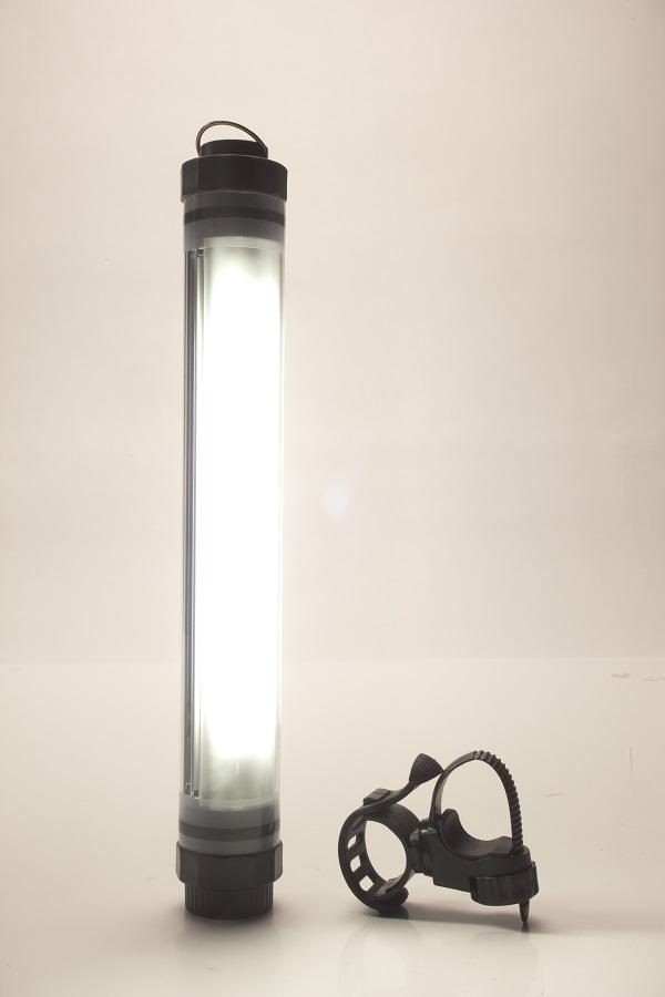 The standard white-light mode with bivvy/bankstick bracket