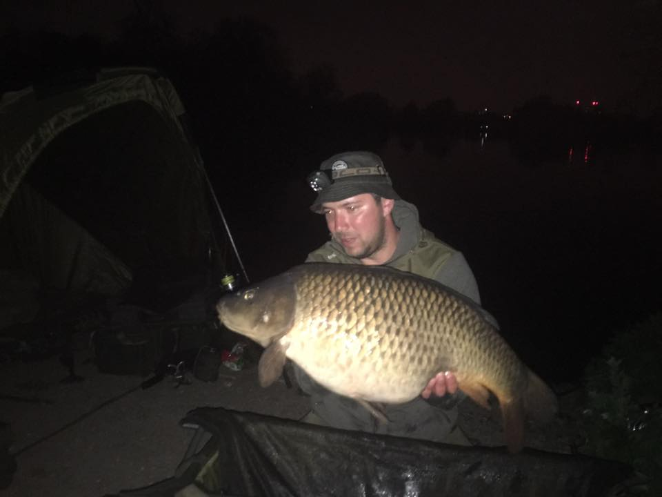 Dmitry with the biggest of the weekend at 29lb