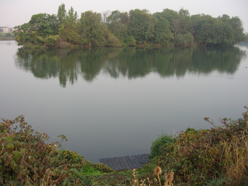 A view of reservoirs two and three