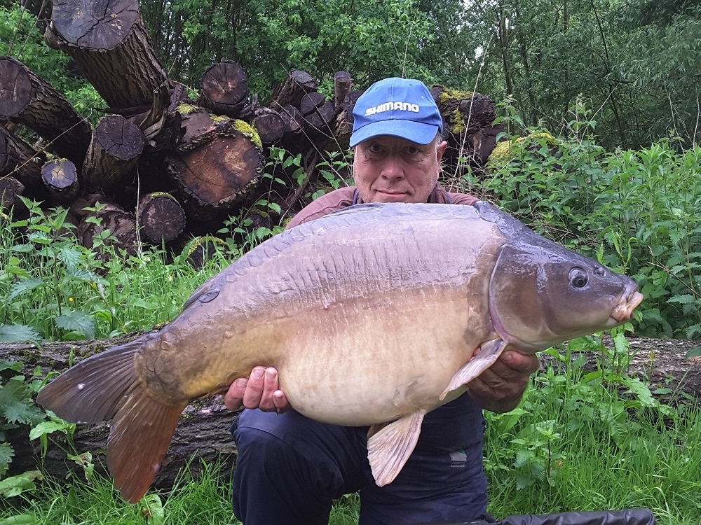 The much-loved Aunty Albert Fish at 35lb 13oz
