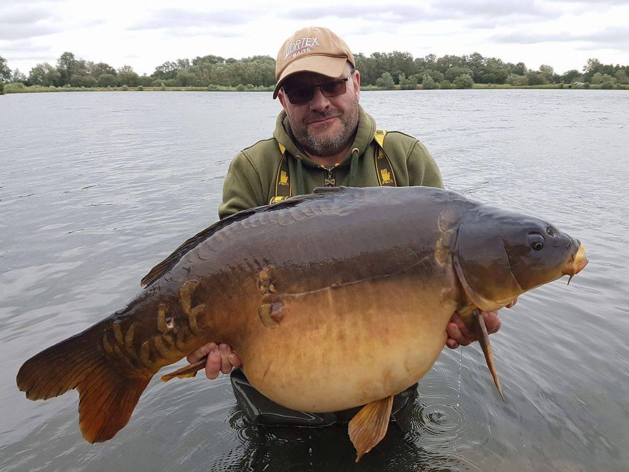 This 53lb 10oz mirror topped the massive haul