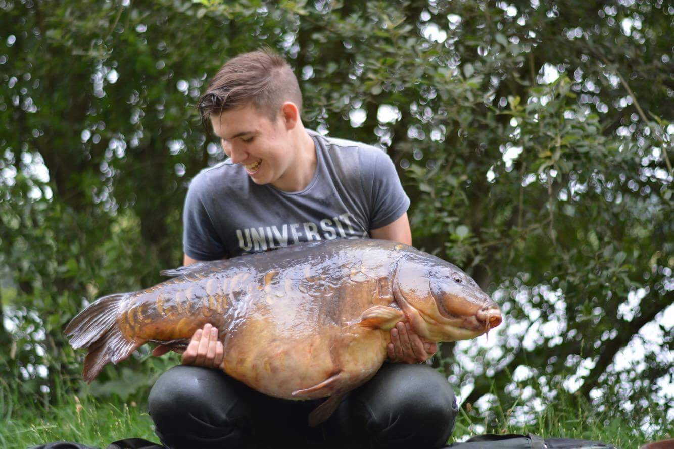 Scott's first 40 weighed 48lb 8oz