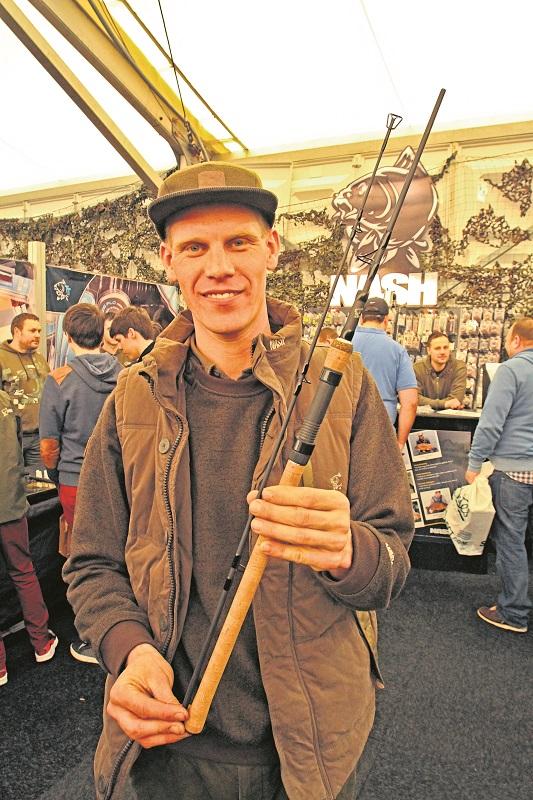 Alan loves his short Scope rods