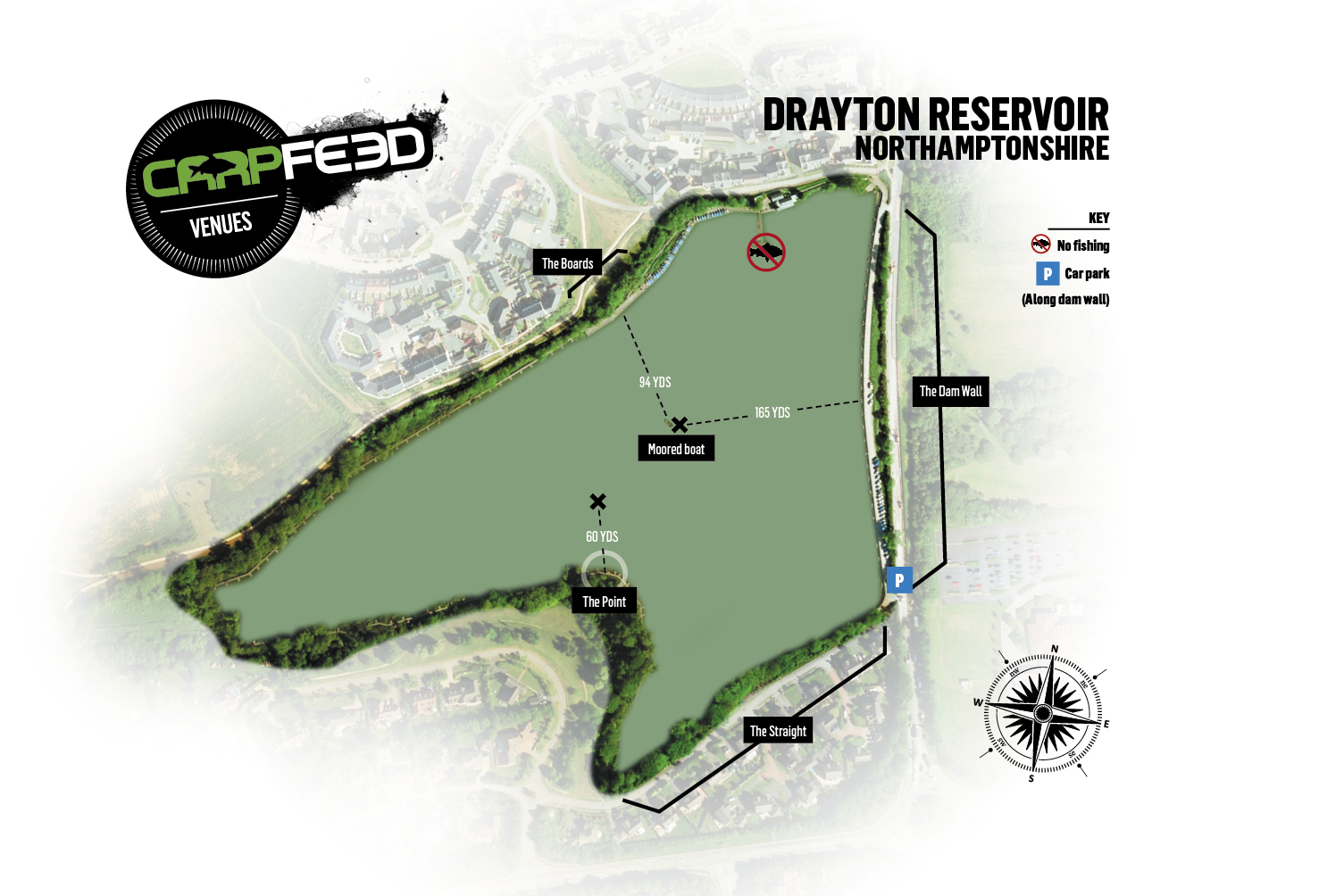 Click the map for our full Drayton venue guide