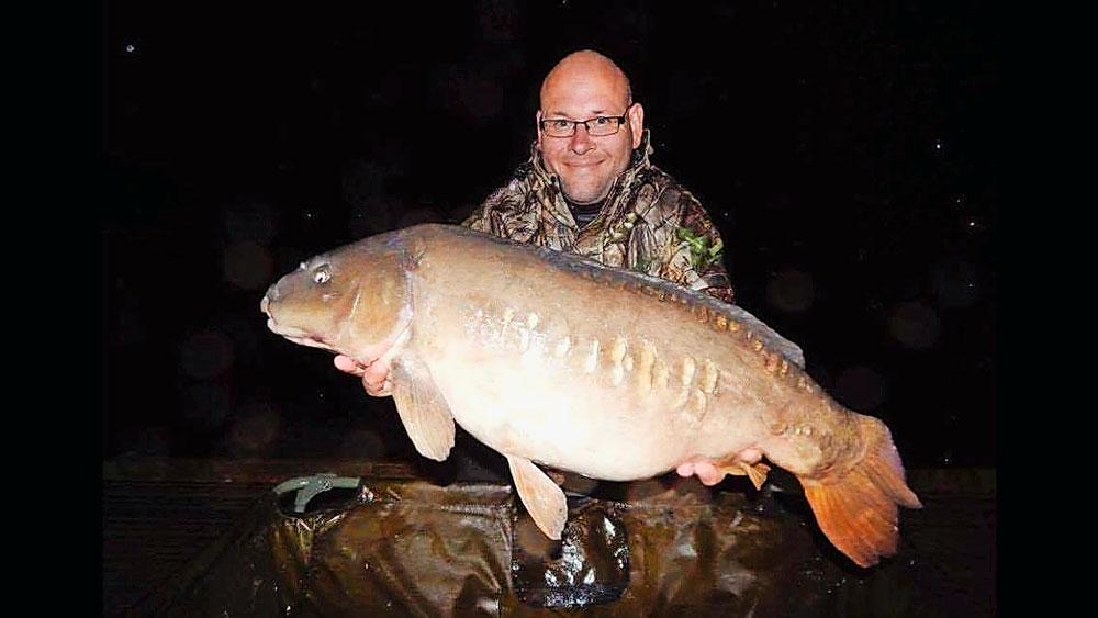 Ollie Booker's 35lb Drayton Res carp