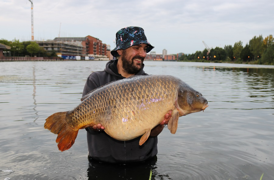 Video star: Andrew and Ollie at 35lb
