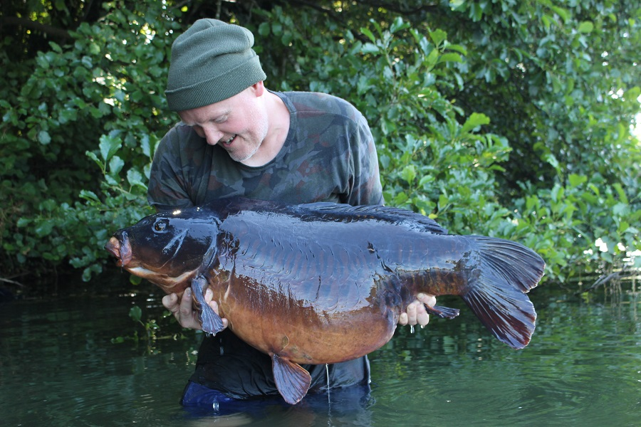 What a fish - and what a battle! Son of Triple Row at 46lb 2oz