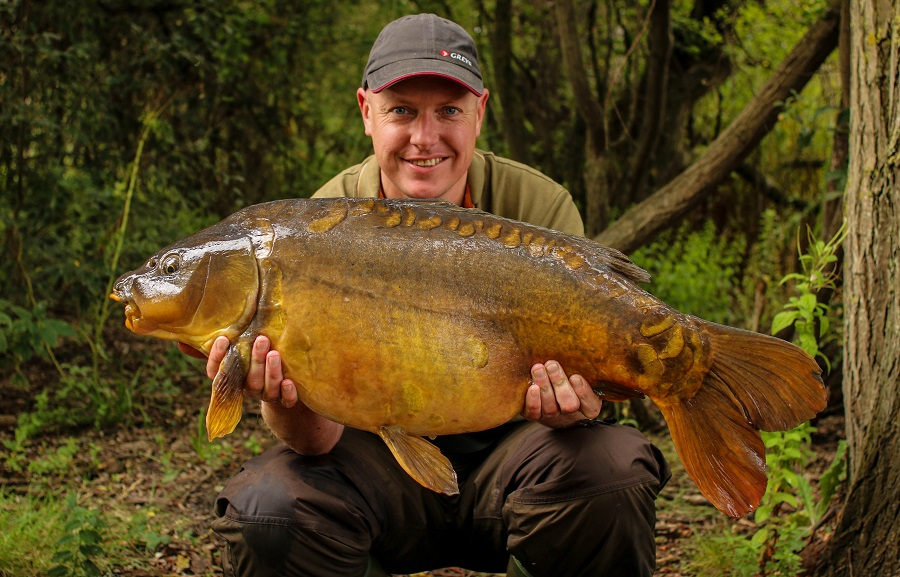 This 25lb 8oz mirror was also part of the session