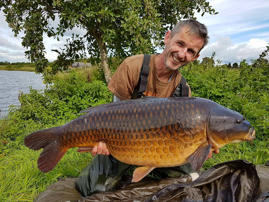 What a beaut! 34lb 8oz of Lancs perfection