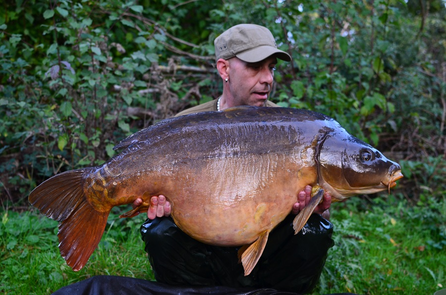 The other side of the 59lb 14oz mirror