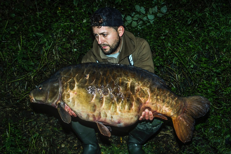 Scott Boyles with the Big Plated at 42lb 8oz