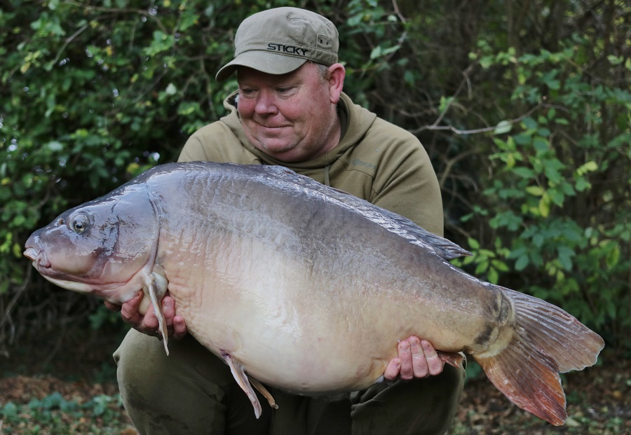 Jack the Ripper at 46lb 14oz - a new personal best for Bill