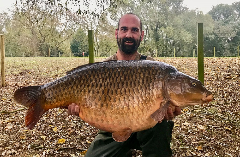 44lb of margin-caught common