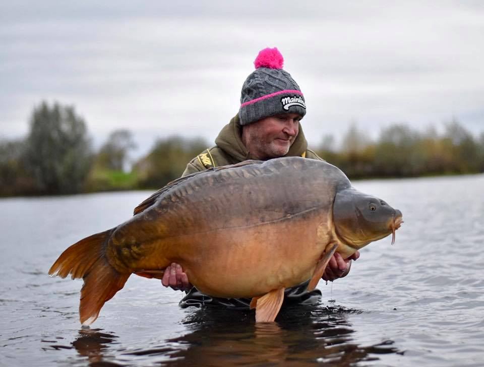 Dave Smedley with the 67lb 4oz brute
