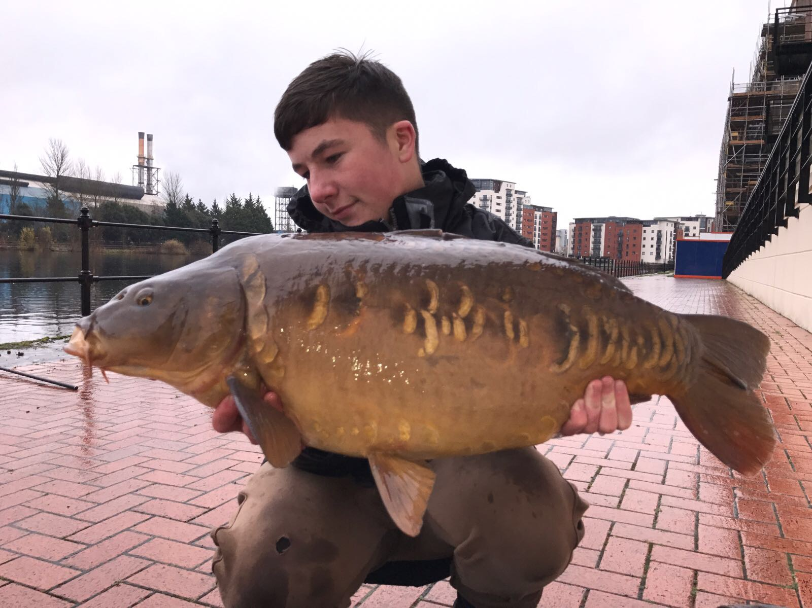This 23lb 9oz mirror was Luke's biggest of eight