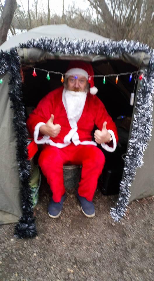 Christmas Day on the bank!